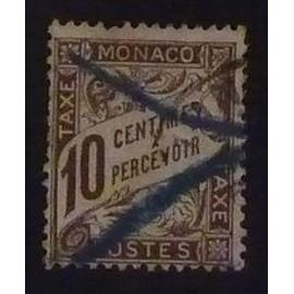 monaco timbre taxe Y&T N° 4