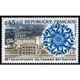 Timbre France Neuf ** YT N° 1792 Anniversaire du Conseil de l'Europe