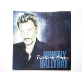 Johnny Hallyday cd Partie De Cartes