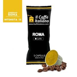 100 Capsules De Café Compatibles Nespresso Nespresso 100 X Dosettes / Capsules De Café Nespresso Café Roma 100 Capsules Compatible Nespresso Il Caffè Italiano