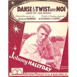 JOHNNY HALLYDAY DANSE LE TWIST AVEC MOI
