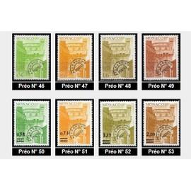 1943-1978 Monaco timbres