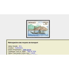 timbres Taxes Monaco 3 (3 timbres identiques)