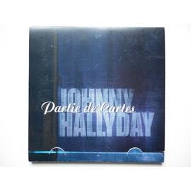 Johnny Hallyday cd Partie De Cartes format en croix