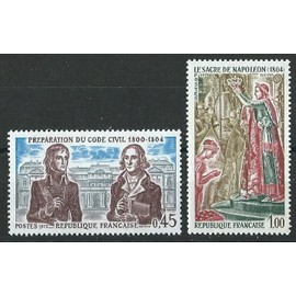 Timbres 1973 N° 1774 et 1776