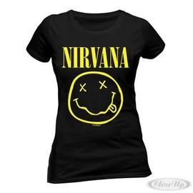 Nirvana Girlie T-Shirt Smiley