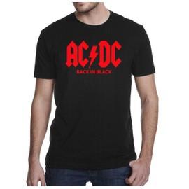 T-shirt ACDC logo classique