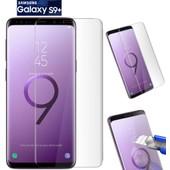 Film Verre Trempé Bords Incurvés 3d Total Écran Protégé Samsung Galaxy S9  Plus 98c753ce57b7