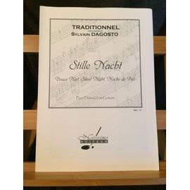 Stille Nacht douce nuit partition 2 flûtes et guitare Sylvain Dagosto Notissimo