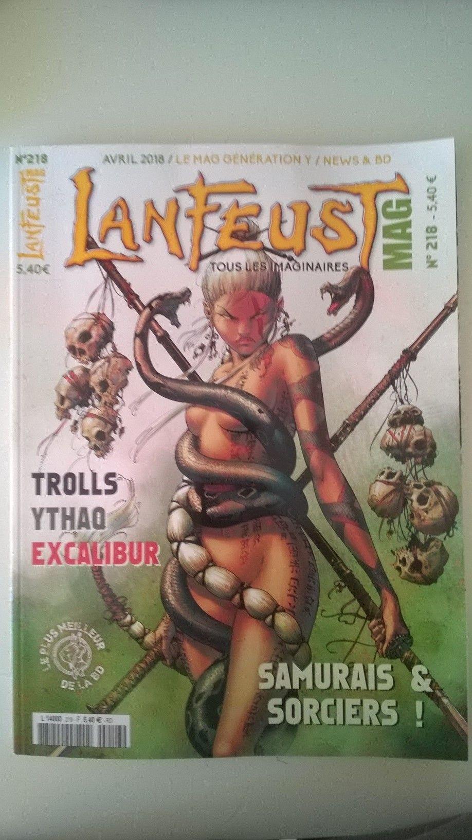 Lanfeust Mag 218 Lib