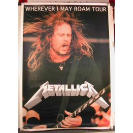 Metallica - AFFICHE MUSIQUE / CONCERT / POSTER