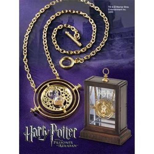 Harry Potter Retourneur de temps et chaine 45cm