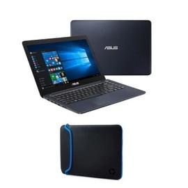 ASUS VivoBook E402NA GA029T + Housse - 14 quot; 4 Go de RAM - Windows 10S - Intel Celeron N3350 - Intel HD Graphics - Disque Dur 32Go + Housse 14