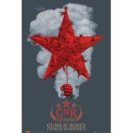 poster guns s roses chinese democracy