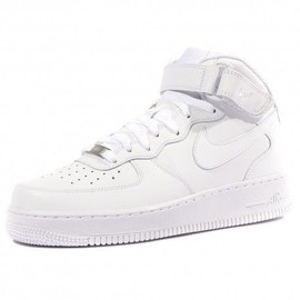 Air Force 1 Mid Homme Chaussures Blanc Nike