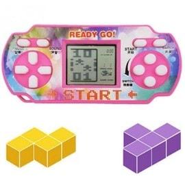 Image Jeux Tetris Console De Poche Jouet Enfant Briques De Construction Ready Go! Type Game Boy Classic Nintendo Idéal Porte Clef