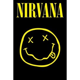 Nirvana Poster - Smiley (91x61 cm)