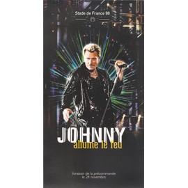 JOHNNY HALLYDAY / PUB POUR ALLUME LE FEU STADE DE FRANCE 98