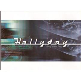 JOHNNY HALLYDAY / PUB POUR SORTIE ALBUM SANG POUR SANG