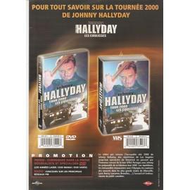 JOHNNY HALLYDAY / PUB POUR TOUR 2000 LES COULISSES