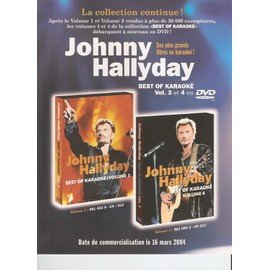 JOHNNY HALLYDAY / PUB POUR BEST OF KARAOKE