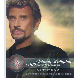 Johnny Hallyday / Pub Pour Coffret Les 100 Plus Belles Chansons