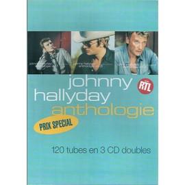 JOHNNY HALLYDAY / PUB POUR 3CD ANTHOLOGIE