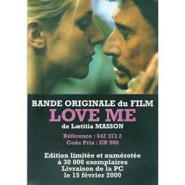 JOHNNY HALLYDAY / PUB POUR FILM LOVE ME