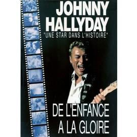 JOHNNY HALLYDAY / UNE STAR DANS L'HISTOIRE / pub pour sortie vhs