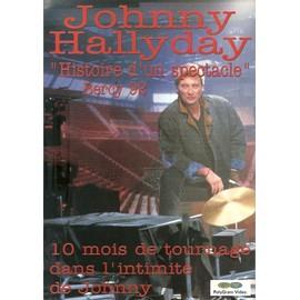 JOHNNY HALLYDAY / BERCY 92 HISTOIRE D'UN SPECTACLE / PUB POUR SORTIE VIDEO