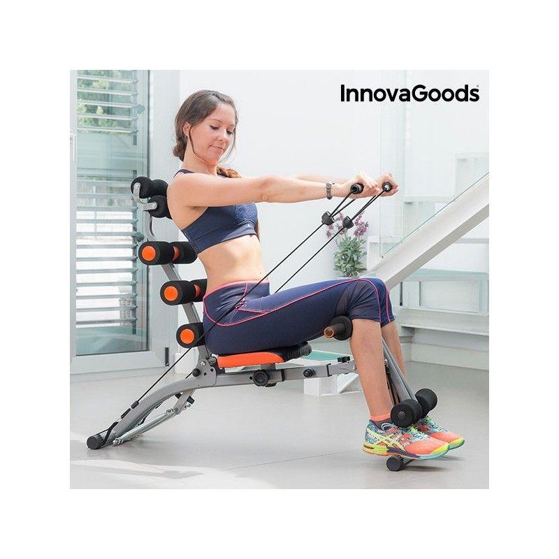 Banc De Musculation 6x Intégral Avec Guide D39Exercices Innovagoods
