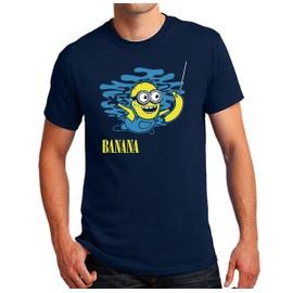T-shirt minion banana nirvana parodie