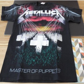 Metallica T-Shirt Master Of Puppets Noir taille s