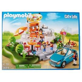 b0ea7ff6371 Playmobil 5644 City Life - Voiture Cabriolet À La Boutique De Crème Glacée