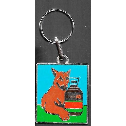 porte clé / porte clés / porte clef / porte clefs (keychain) publicitaire en métal / métallique publicitaire : puma ad / l'anti-graminées ...