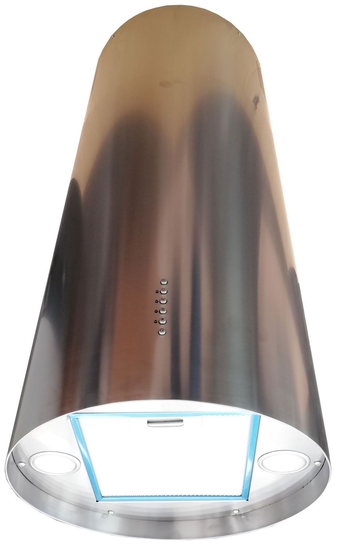 Sogelux hotte tube Îlot suspendue hcl944xf inox