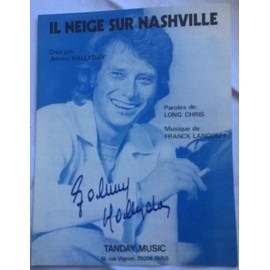Il neige sur Nashville-Johnny Hallyday