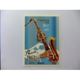Andorra Española 2013 Música Jazz Saxofón Yvert 404 ** MNH