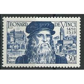 Léonard de Vinci 1952 n° 929 avec charnière*.