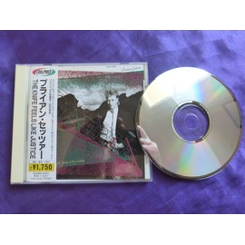 Brian Setzer The knife feels like justice CD Japon 1986 Avec OBI