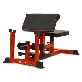 Pullup Fitness SISSY SQUAT Bench/Preacher Curl/Sit up Rack/ABDOS/Cuisse/Fessier/Rouge d'occasion  France