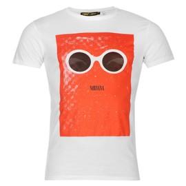 Official Cobain T-shirt Manche Courte Top Tee Haut Hommes