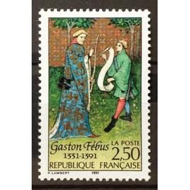 Gaston Fébus 2,50 (Impeccable n° 2708) Neuf** Luxe (= Sans Trace de Charnière) - France Année 1991 - N20884