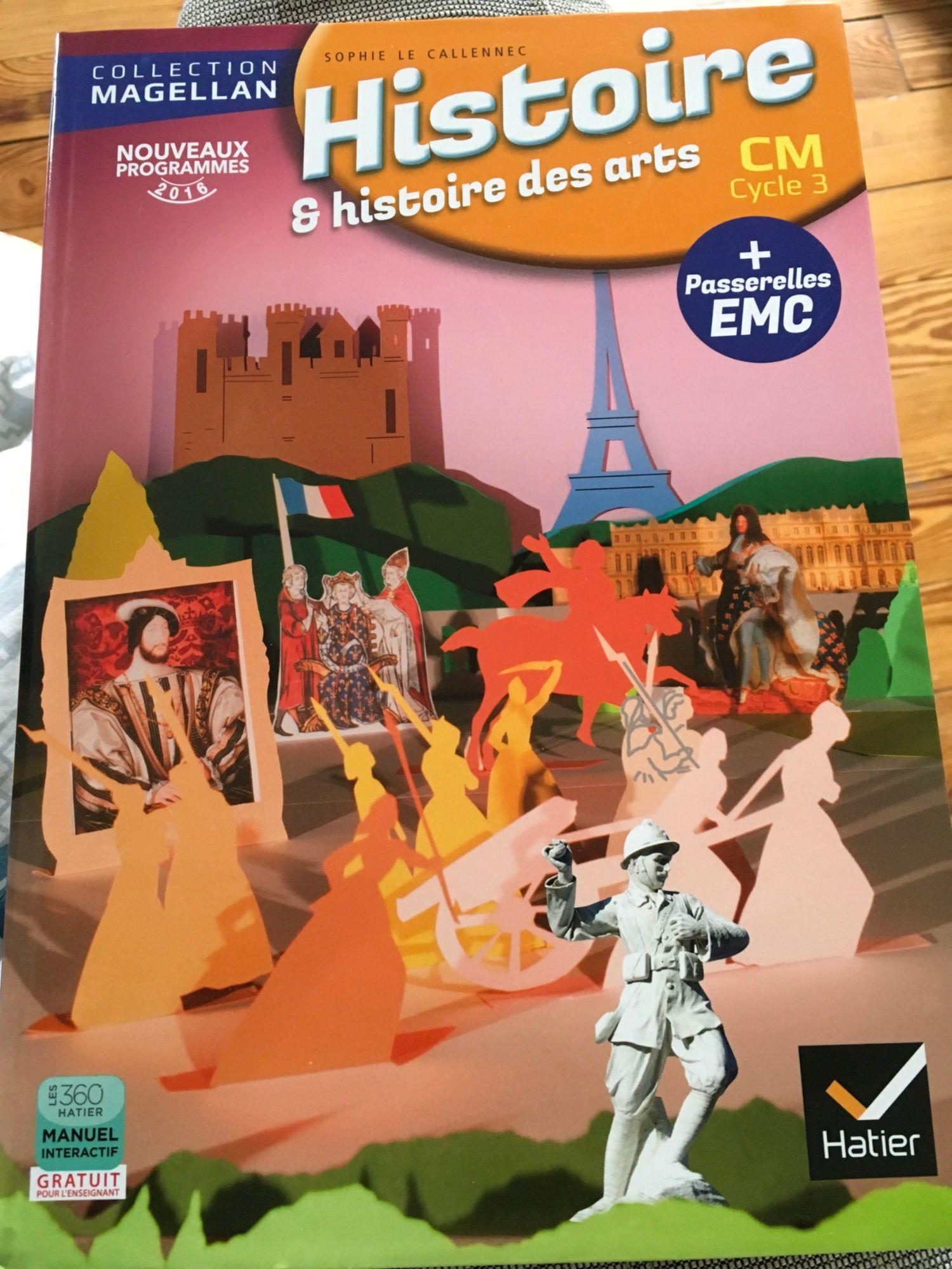 Magellan Histoire Cm ed. 2016 - Manuel de l'Eleve Specimen