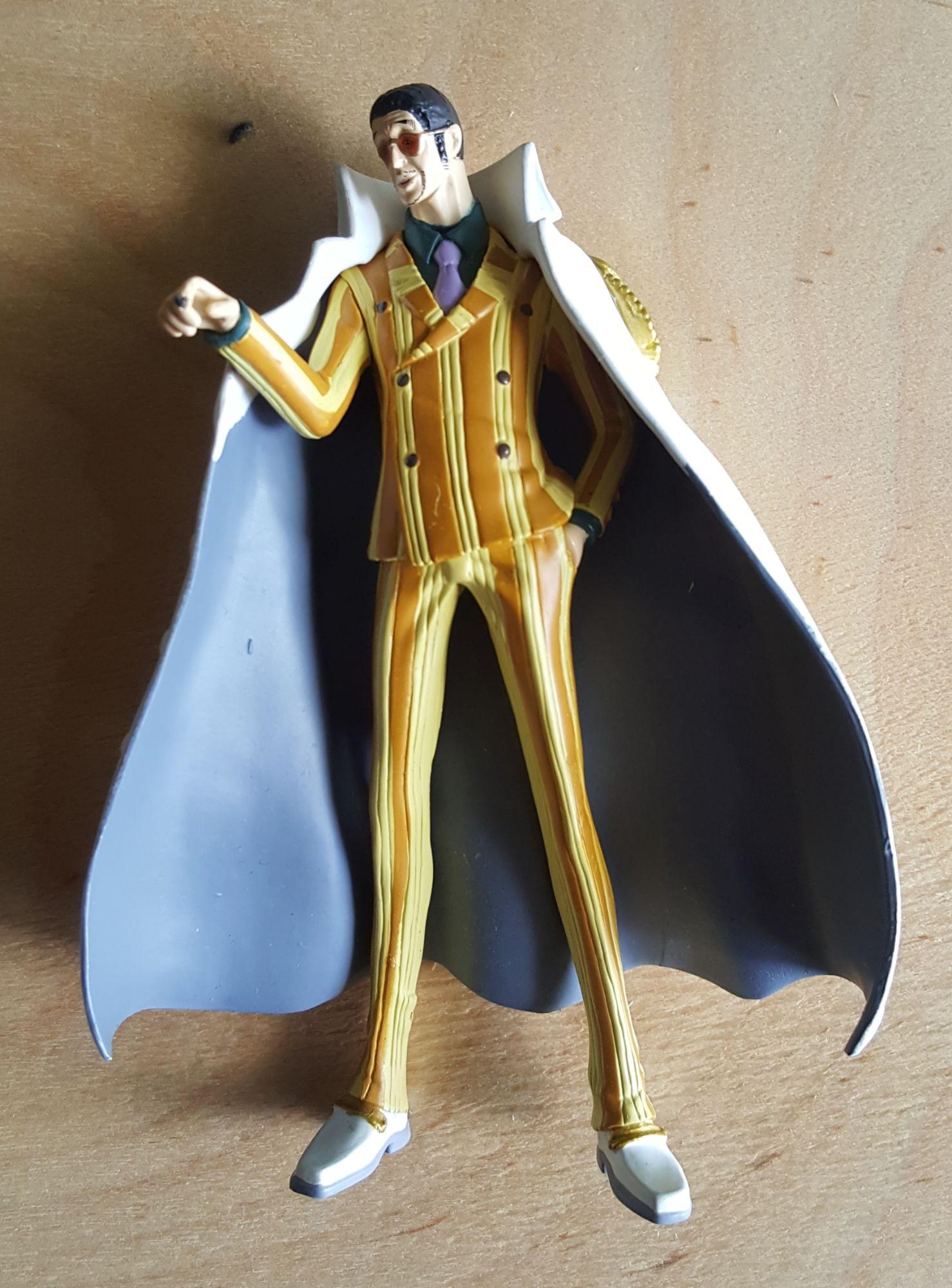 amiral borsalino dit kazaru figurine one pièce collection hachette n27 neuf