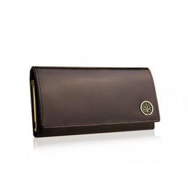 a37a18d68cfd Portefeuille Grand Porte-Monnaie Femme 100% Cuir 18x9 Cm - Boite Cadeau  Noël Anniversaire
