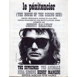 Le Pénitencier (the house of the rising sun) 1964 / Johnny hallyday