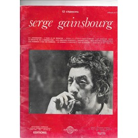 serge gainsbourg 12 chansons album 1