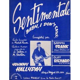 Sentimentale (Baby,i don'tcare) 1957 Johnny hallyday