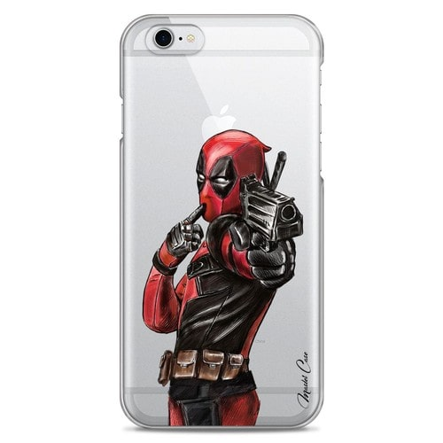 Coque iPhone 6/6S transparente motif super-héro, box-office ...